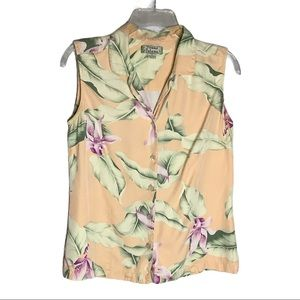 Tommy Bahama silk ladies top size S